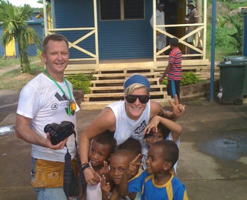 Brookvale Rotary helping to provide housing for the homeless in Fiji, May 2012