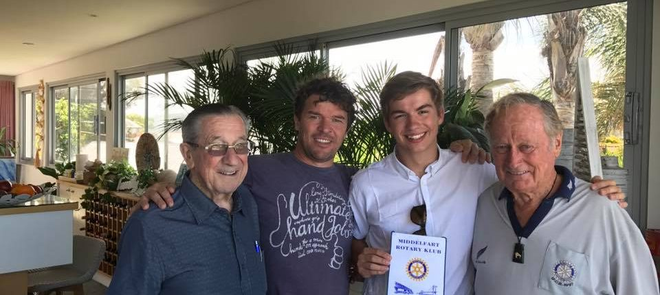 Reunion with Rotary's Danish exchange student Emil Munk